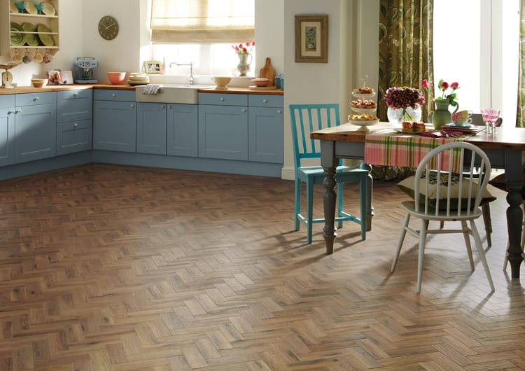 karndean interlocking parquet flooring