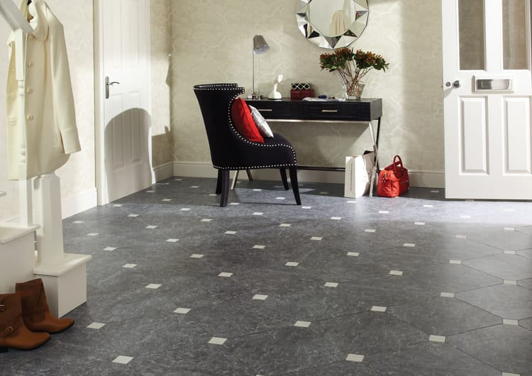 karndean grey tile flooring