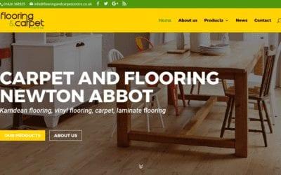Flooring and Carpet Centre Kingsteignton's new website!