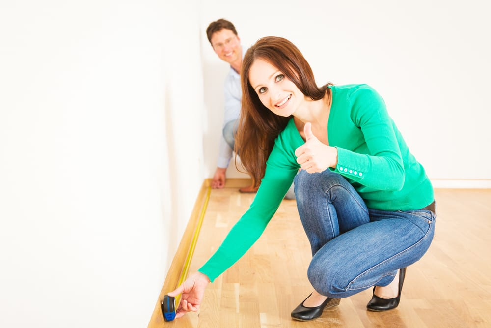 how to measure a room for laminate flooring